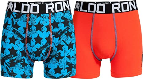 CR7 Cristiano Ronaldo Boys Boxershorts Jungen 2-Pack (CR7-8400-5100)