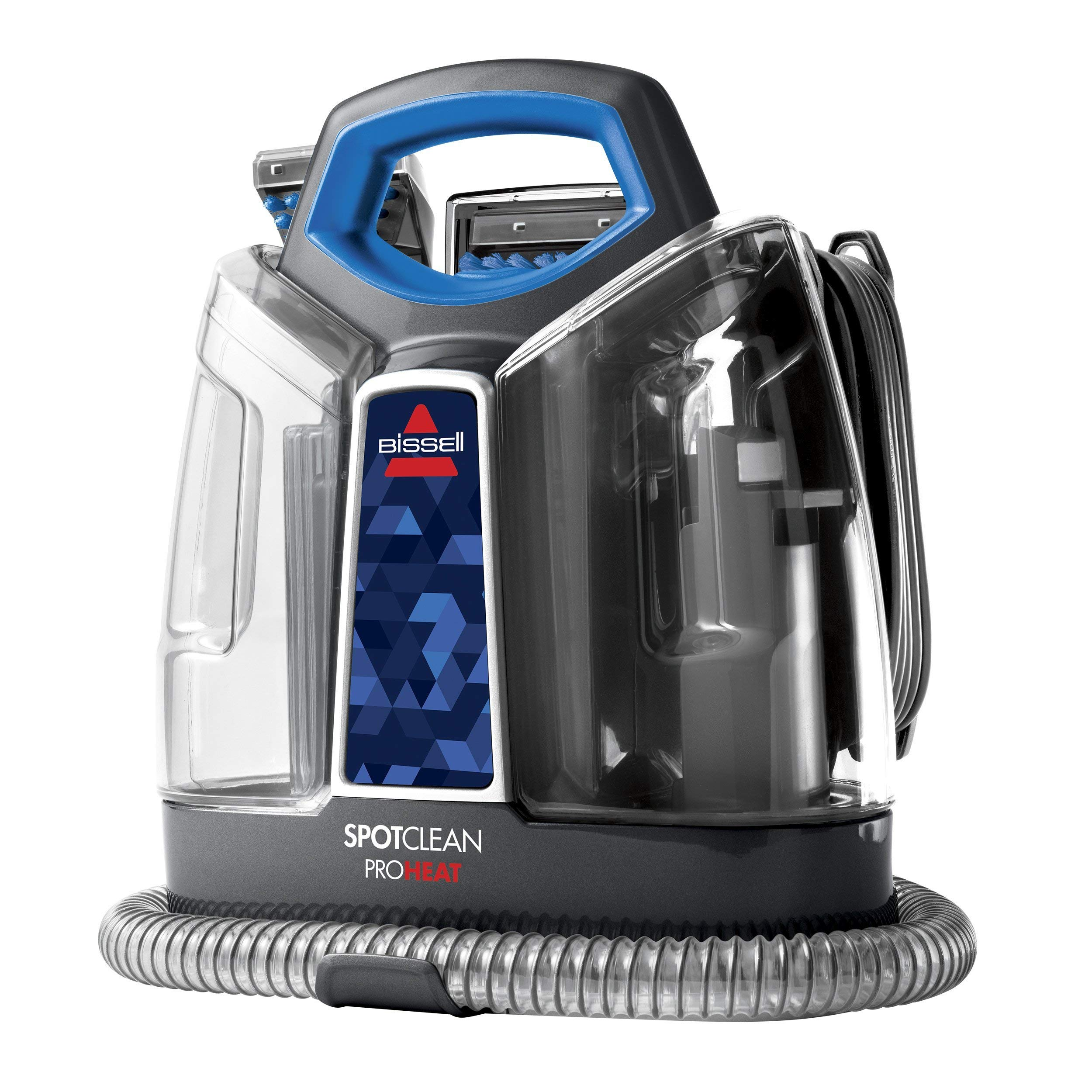 BISSELL SpotClean ProHeat 5207N Portable Deep Cleaner, Blue (Renewed) by Bissell