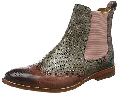 Melvin & Hamilton Damen Susan 10 Chelsea Boots Beige Braun Gr. 35