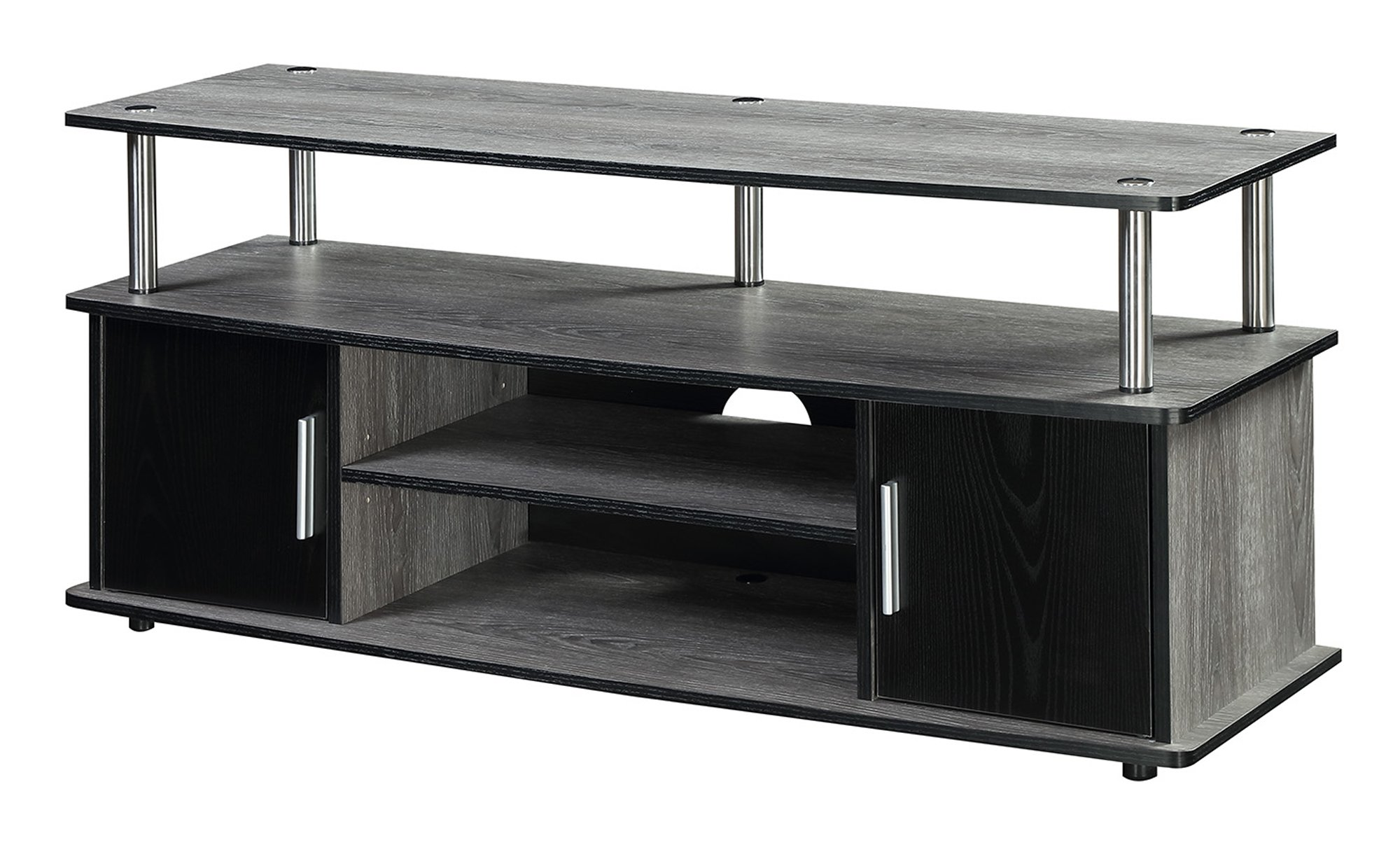 Convenience Concepts Designs2Go Television Stand, Weathered Gray by Convenience Concepts