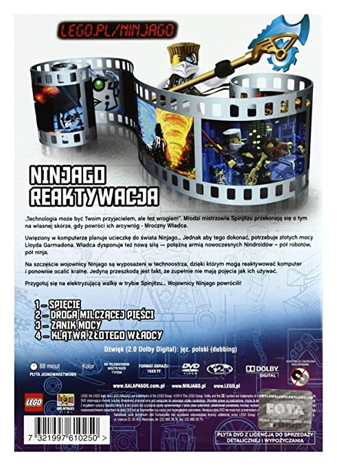 Amazoncom Lego Ninjago Rebooted Vol 1 Dvd Import No English