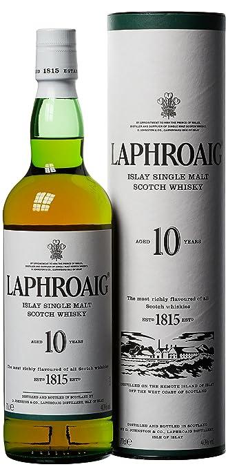 23 opinioni per Laphroaig Whisky Scozzese Puro Malto 10 Anni 70 Cl