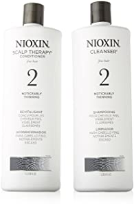 Nioxin System 2 Cleanser and Scalp Therapy Conditioner