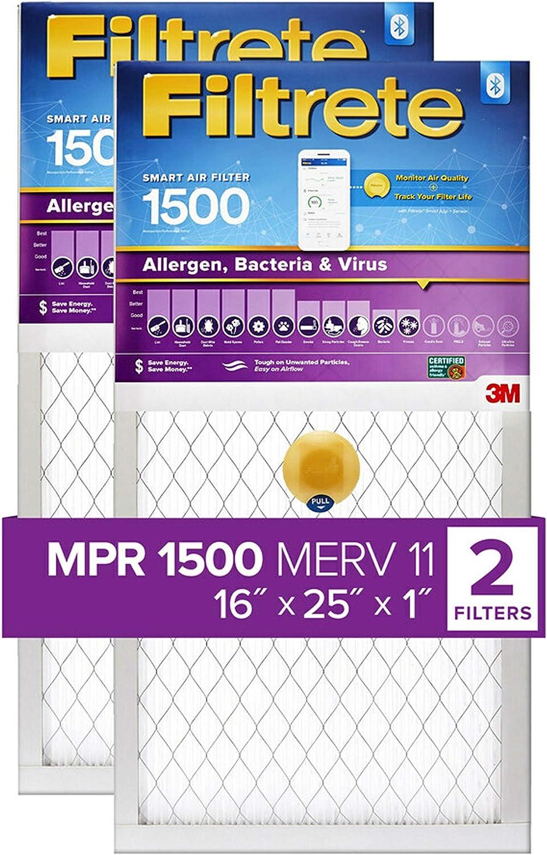 Filtrete MPR 1500 2er-Pack 12 x 20 x 1