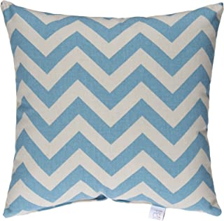 product image for Glenna Jean North Country Pillow, Blue/Grey Chevron