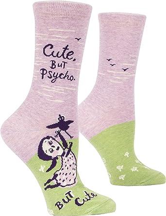 Novelty Gift 5-10 Hope You Like Amazing Blue Q Women/'s Crew Socks