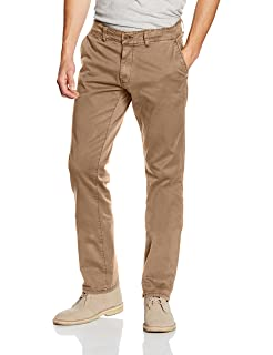 Garcia Mens Chino Trousers Savio Slim Fit Light Beige Used