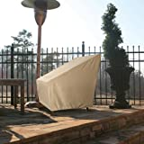 Patio Armor SF46612 Ripstop Extra Large Chair Cover, XL, Taupe