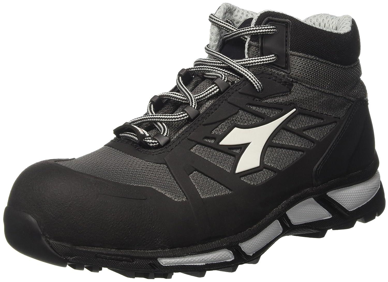 Diadora Herren D Trail High S3 Sra Hro Sneaker  Schwarz (Antracite/Nero)  44 EU