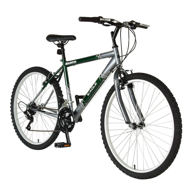 Mantis Eagle Mountain Bike, 26 inch Wheels, 17 inch Frame, Men's and  Women's Bike, Purple or Green