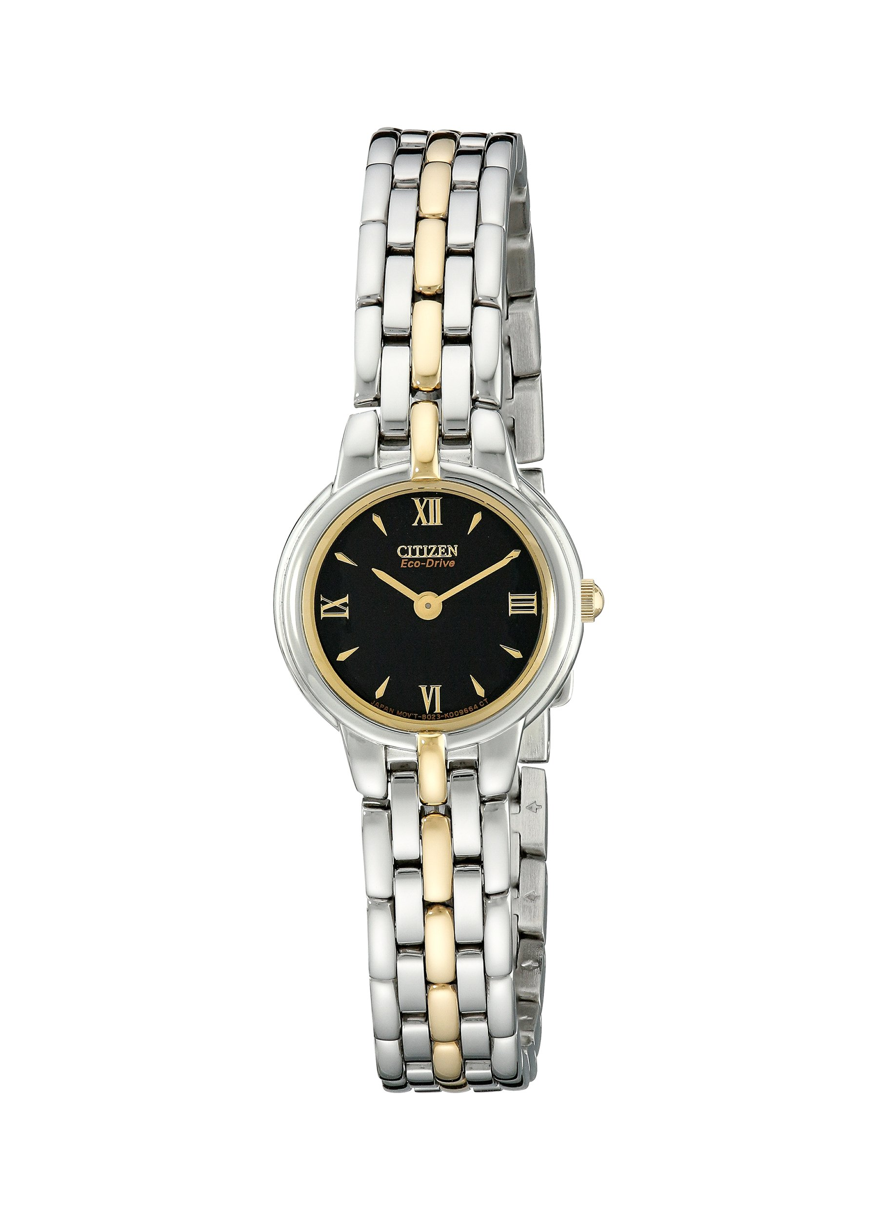 Citizen Women's EW9334-52E Eco-Drive Silhouette Two-Tone Bracelet Watch