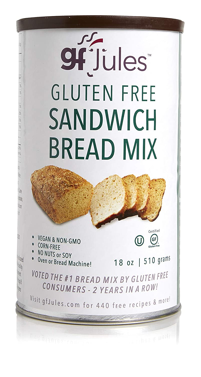 Gfjules Gluten Free Sandwich Bread Mix Voted 1 By Gf Consumers 1 11 Lbs Pack Of 1