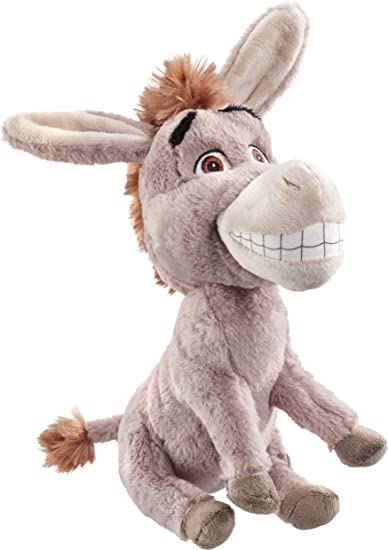 25cm Plush Donkey Soft Toy *BRAND NEW* DreamWorks Shrek
