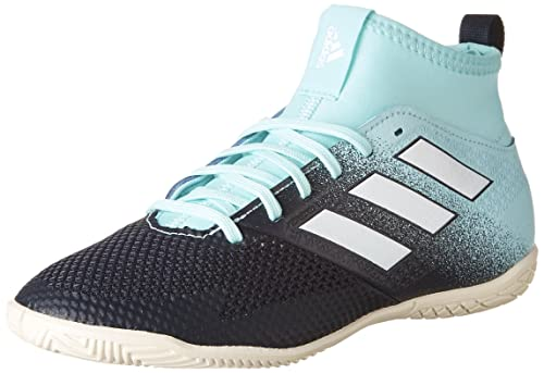 best service 92de9 52443 adidas Boys ACE Tango 17.3 Indoor Soccer Shoes, Energy AquaFootwear White