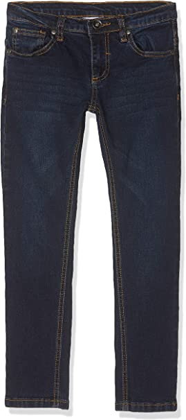 MEK Pantalone Denim Elasticizzato Jeans para Ni/ñas