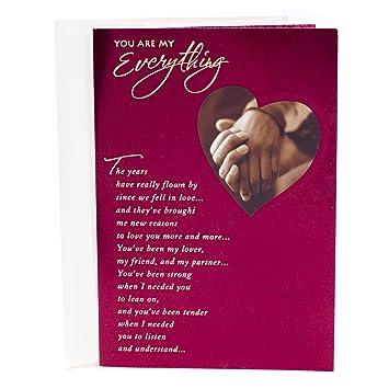 Amazon.com : Hallmark Mahogany Valentine\'s Day Greeting Card for ...