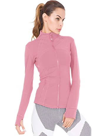 Queenie Ke Women s Sports Define Jacket Slim Fit And Cottony-Soft Handfeel b5ab716a0e