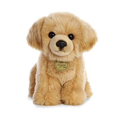 "Aurora - Miyoni - 11"" Golden Retriever Pup: Toys & Games"