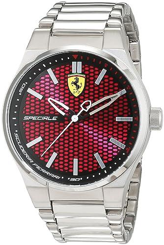 Ferrari 0830357 Speciale - Reloj de pulsera para hombre: Ferrari: Amazon.es: Relojes