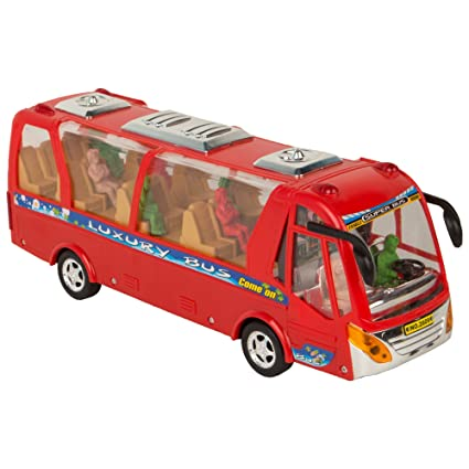Buy Funblast Bus Toy For Kids Luxury Bus Toy With Flashing Lights