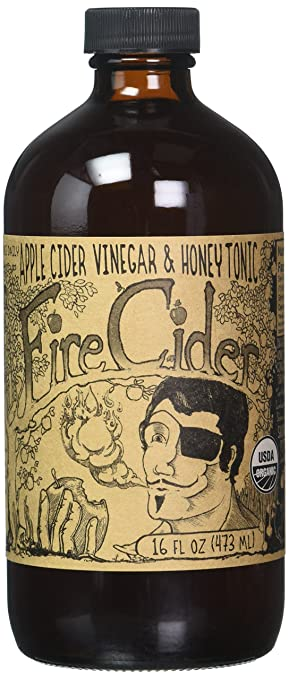 Amazon fire cider apple cider vinegar and honey tonic fire cider apple cider vinegar and honey tonic original 8 oz malvernweather Choice Image