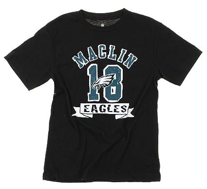 7223d44cfdb Outerstuff Philadelphia Eagles Jeremy Maclin Youth, Boys T-Shirt, Black (X-