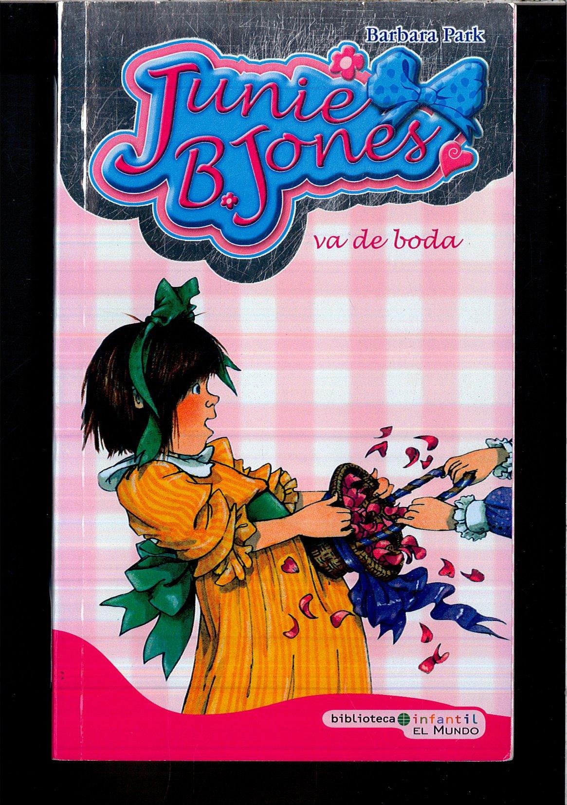 Junie B Jones Va De Boda 9788496878686 Books Amazon Ca