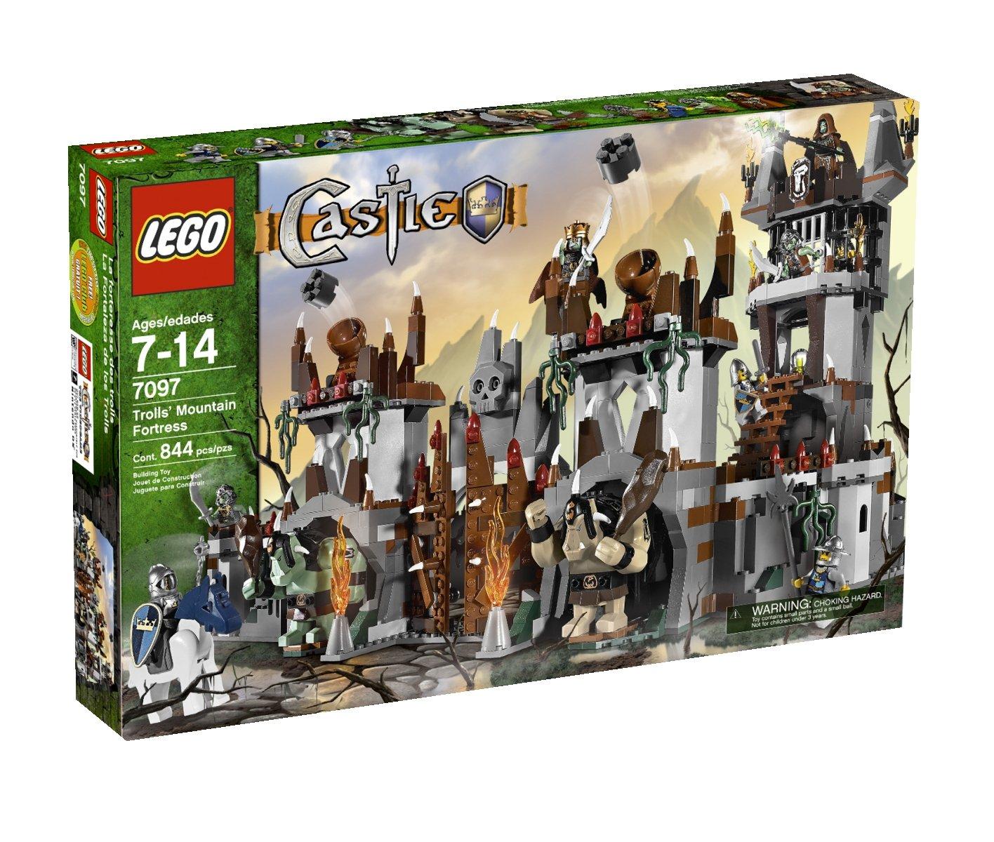 Amazon Lego Castle Trolls Mountain Fortress 7097 Toys Games