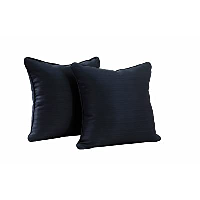 Sunjoy S-PL065PFB-B Outdoor Pillow, Blue : Garden & Outdoor