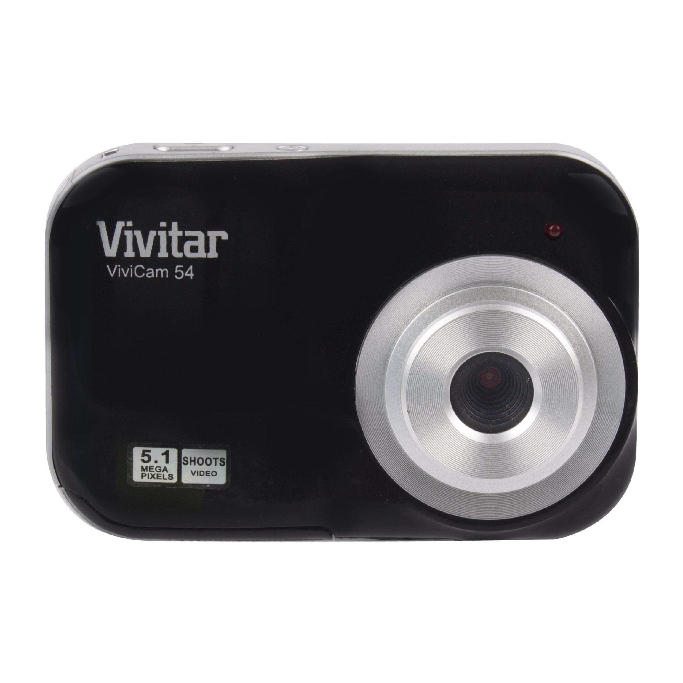 Vivitar V46-WHT 5.1MP Digital Camera with 1.8 tft, Colors May Vary by Vivitar