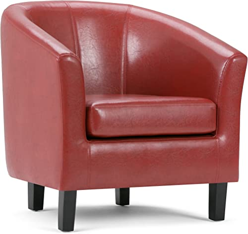 Simpli Home AXCTUB-003 Austin 30 inch Wide Transitional Tub Chair