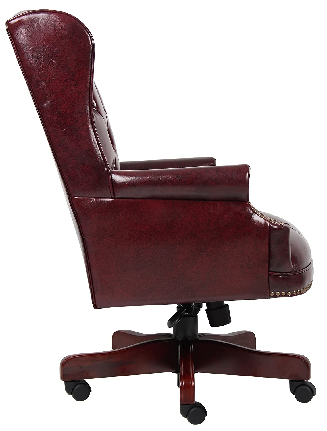 Amazoncom Boss Office Products B800BY Wingback Traditional