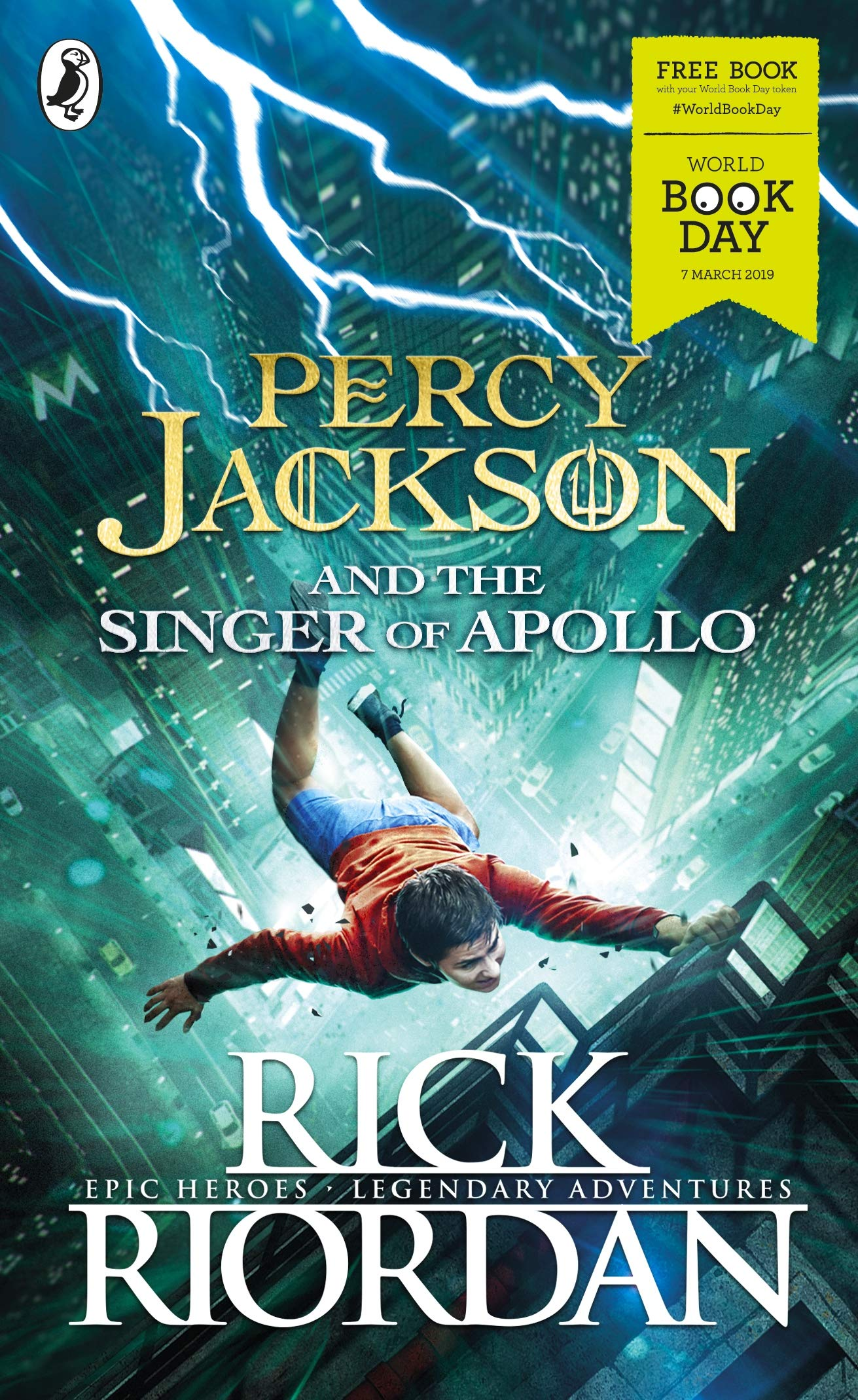 Percy Jackson and the Singer of Apollo: World Book Day 2019 por Rick Riordan