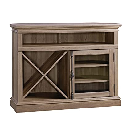 Merveilleux Sauder Barrister Lane Corner Entertainment Stand In Salt Oak