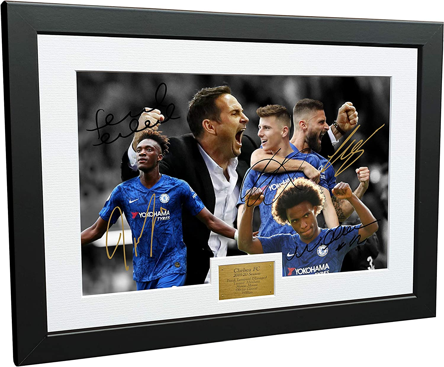 Quote Frank Lampard Poster Print Frame Not Included Alternative Football Prints in Various Sizes