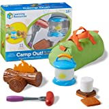 Learning Resources New Sprouts Camp Out!, Imaginative Play, Camping Toy, Outdoor Toys, 11 Pieces, Easter Gifts for Kids, Ages