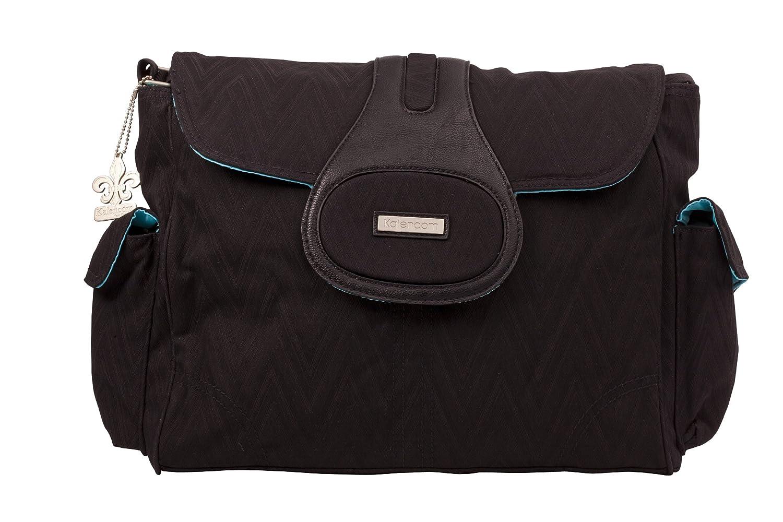 Kalencom - Bolso cambiador, color negro 75071