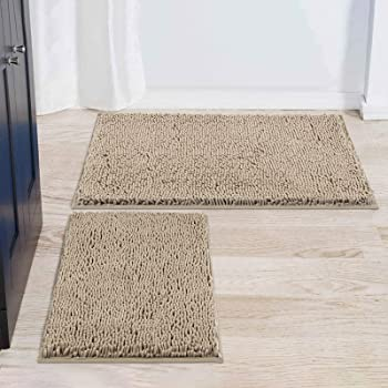 Smiry 2 Piece Bathroom Rug