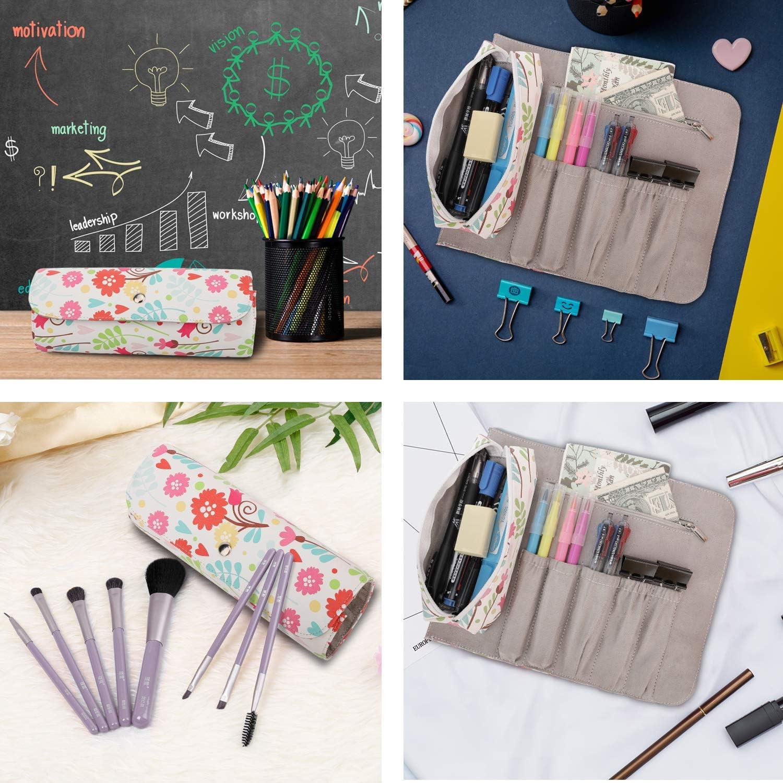 pencil case and set of 2 3d masks Boy or Girl Scout zipper bag