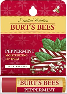 product image for Burt's Bees Peppermint Lip Balm Blister for Unisex, 0.15 Ounce