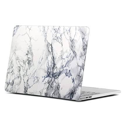 the best attitude cf3d3 363a7 GMYLE MacBook Pro Touch Bar 15 A1990/A1707 (2016, 2017, 2018 Release) Case,  Hard Plastic Shell Matte Cover for New Apple Mac Pro 15 Inch - White ...