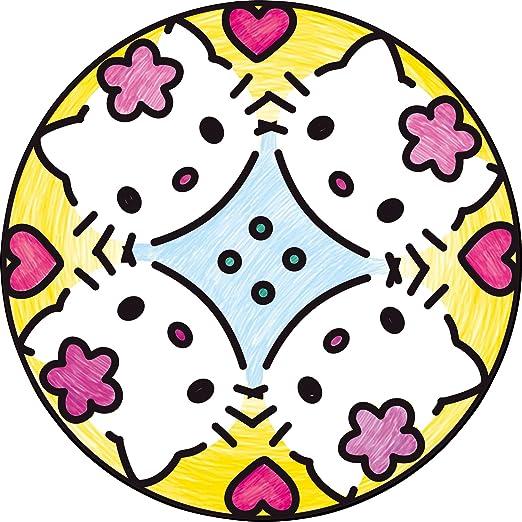 Ravensburger 29736 8 Hello Kitty Mandala Designer Craft Kit