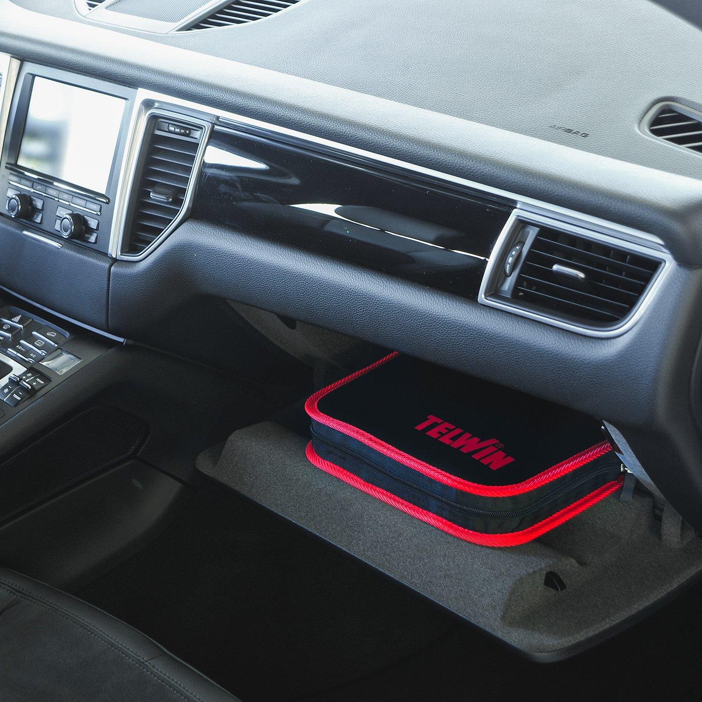 Telwin Drive 9000 Avviatore Compatto al Litio 12V /& Power Bank Rosso