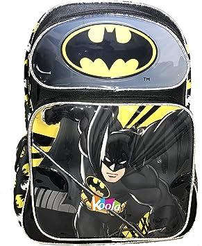 Boys School Bags Rucksack Childrens Kids Superhero Backpack Cartoon Batman Gifts