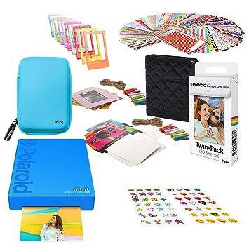 Polaroid Mint Impresora de Bolsillo Inalámbrica (Azul) Kit ...
