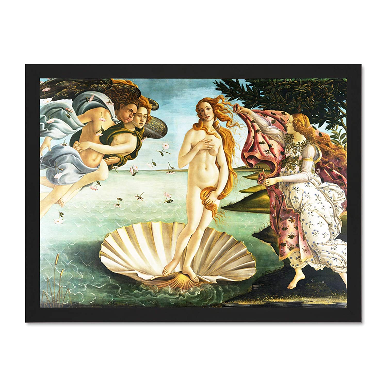 PAINTING SEA SHELL GODDESS BIRTH VENUS BOTTICELLI ART POSTER PRINT LV2867