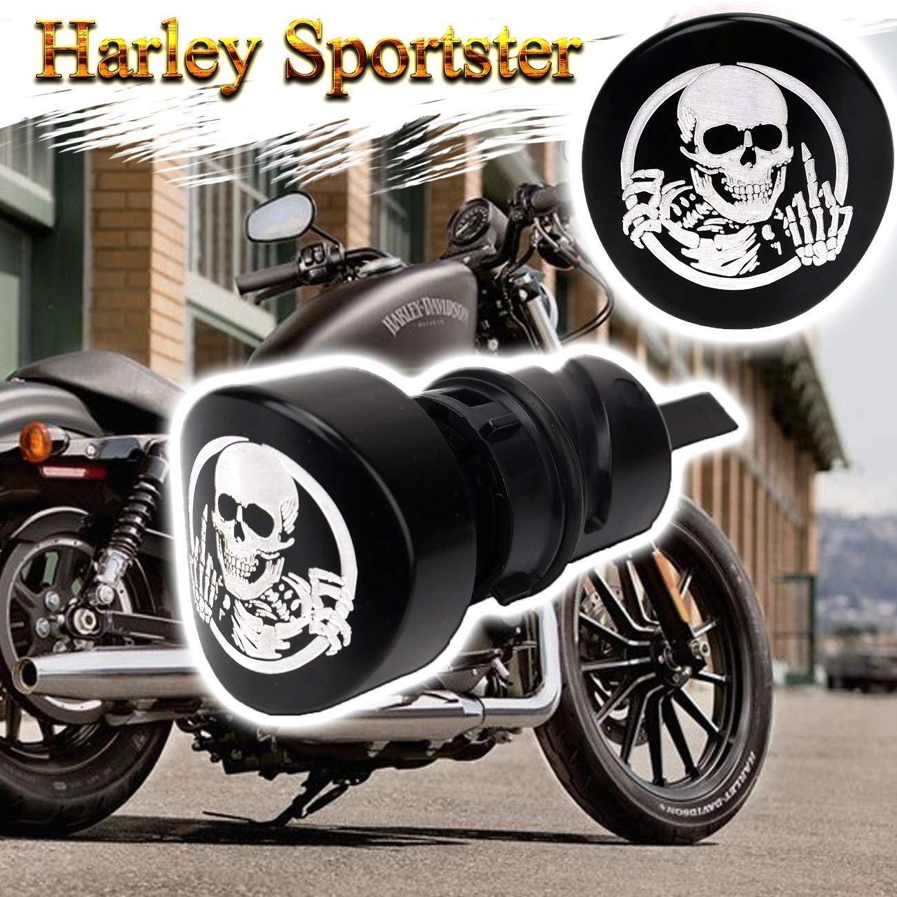 9 Pcs Billet Fairing Windshield Bolt Kit For Harley GHOST USA USMC EGA 159