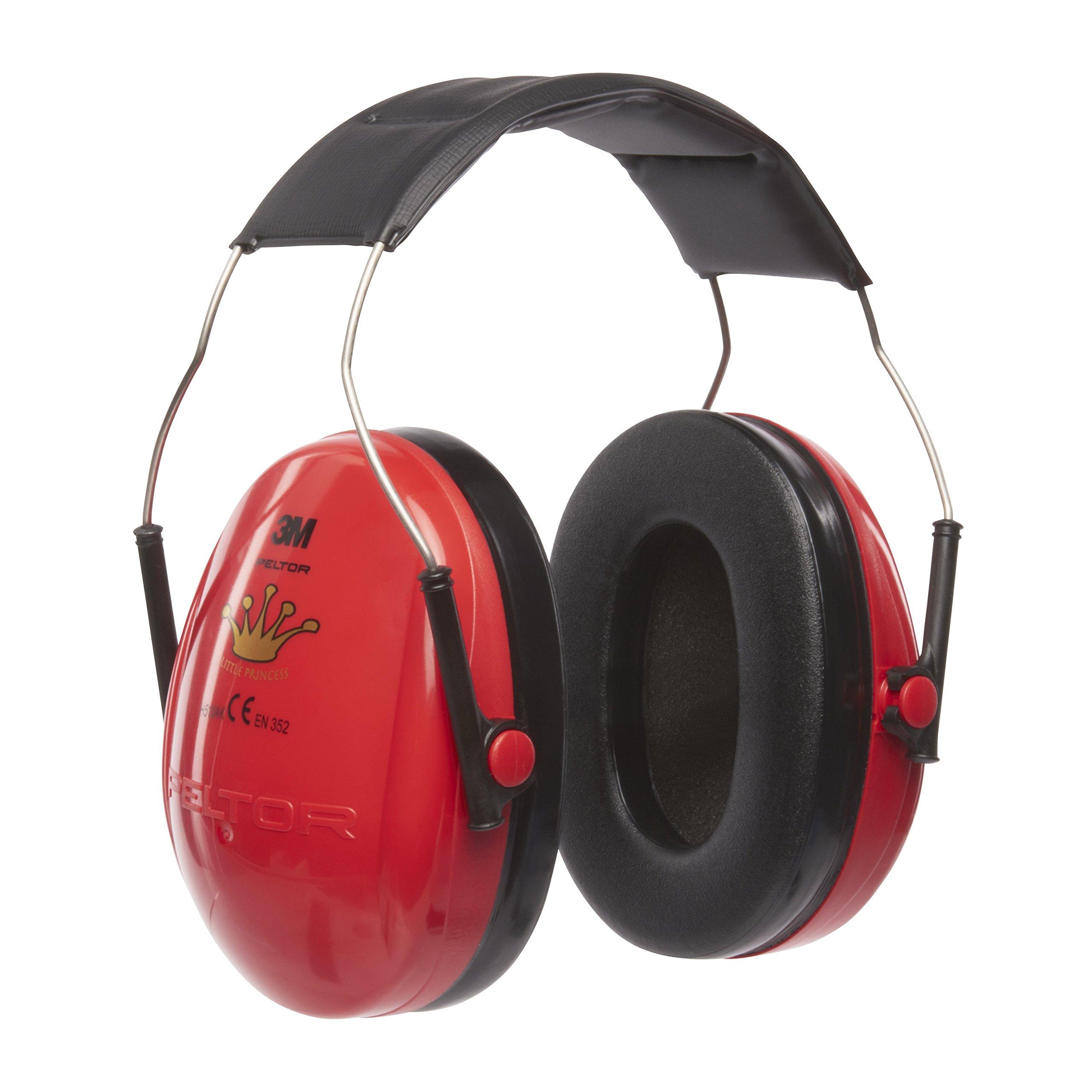 3M Princess Peltor Protección auditiva, Niños, Rojo product image