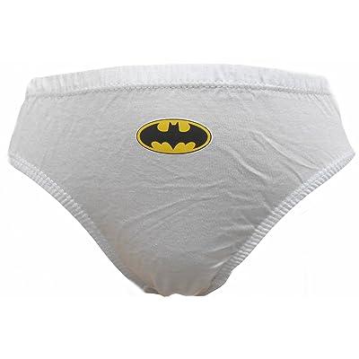 Batman Logo Little Boys 6 Pack Briefs Underpants