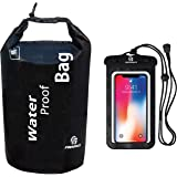 Freegrace Waterproof Dry Bag - Lightweight Dry Sack with Seals and Waterproof Case - Float on Water - Keeps Gear Dry for…
